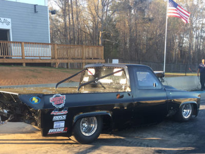 Miss Misery - Fastest AWD Truck Sets World Record With Ross Pistons