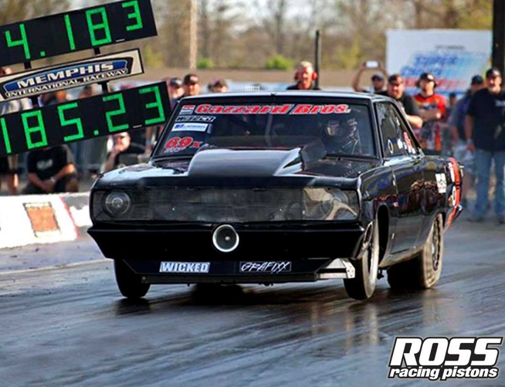 The Quickest & Fastest Leaf Spring Car In The World Runs Ross Pistons