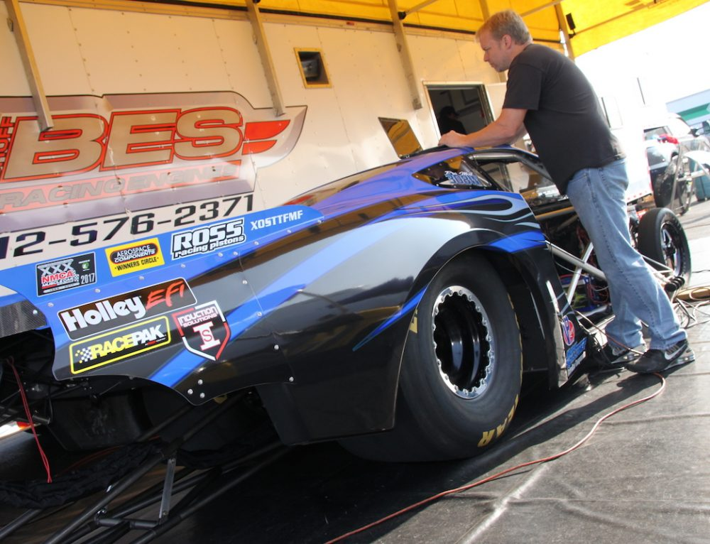 Widener And Bischoff Getting Their C7 Corvette Ready For Indy
