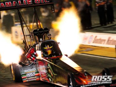 Ross Pistons Racer Terry Mcmillen Wins NHRA Top Fuel 2017