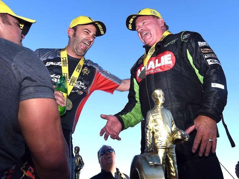 Ross Pistons Racer Terry Mcmillen Wins NHRA Top Fuel 2017