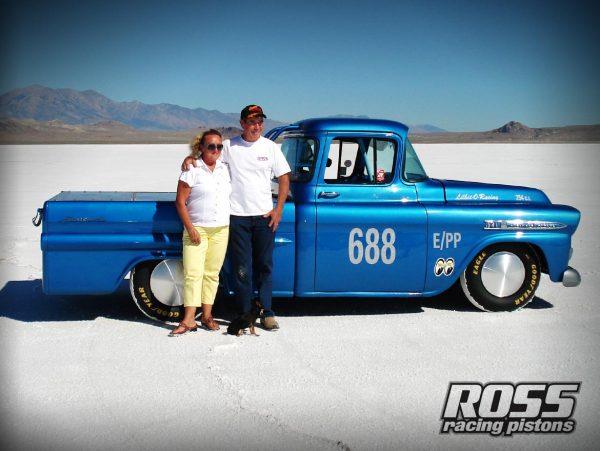 Larry Lancaster Ross Racing PIstons Salt Flats Racing