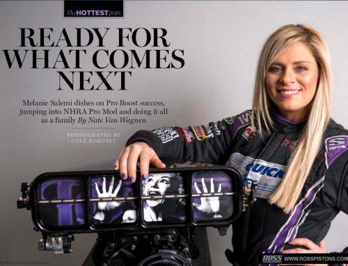 Melanie Salemi Dives Head First Into NHRA Pro Mod