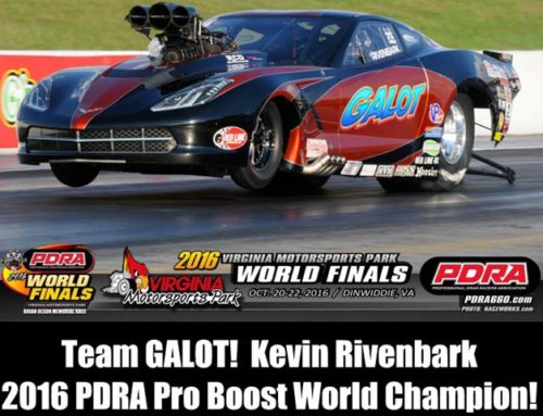 GALOT Motorsports Claims 2ND PDRA Pro Boost Title Running Ross Racing Pistons