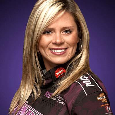 Melanie Salemi Ross Pistons Racer Inset