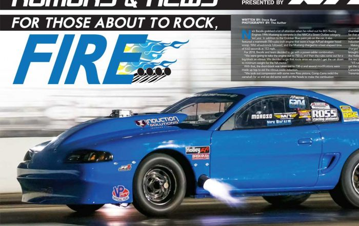 Nick Bacalis Ross Racing PIstons