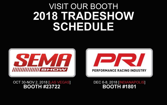 Ross Racing Pistons 2018 Tradeshow Schedule
