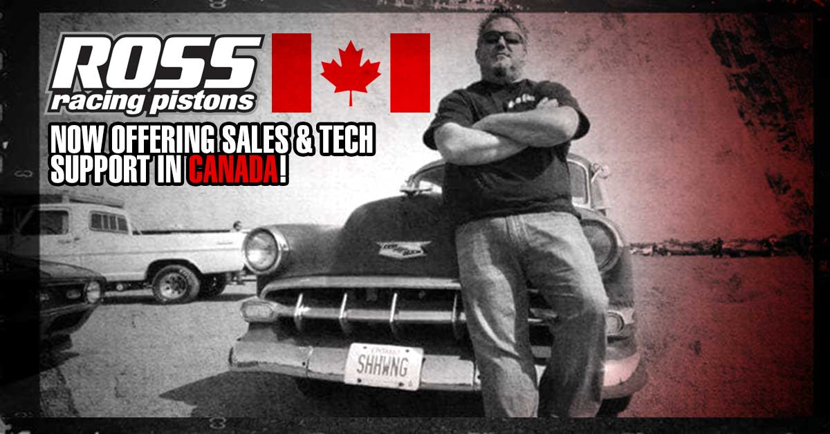 Ross Racing Pistons Canada